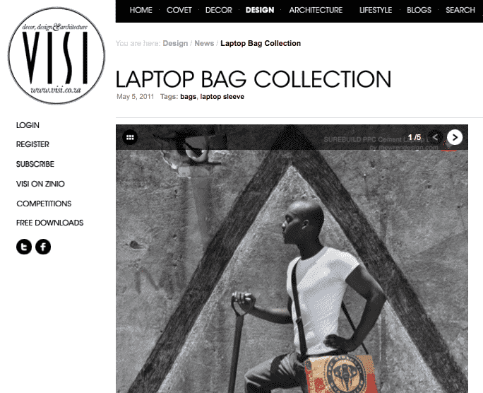 VISI laptop Bag collection