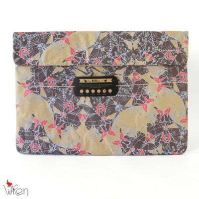 Moths Scarlet Laptop Sleeve