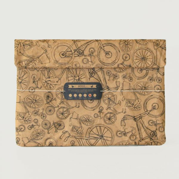 Bicycle All Around Town Laptop Sleeve Front 1