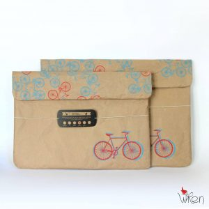 Bicycle RB Laptop Sleeve front set