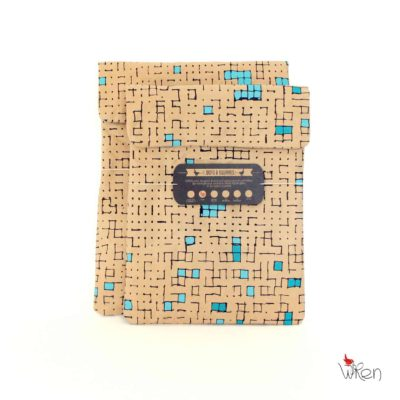 Turquoise Dots iPad & Tablet Sleeve