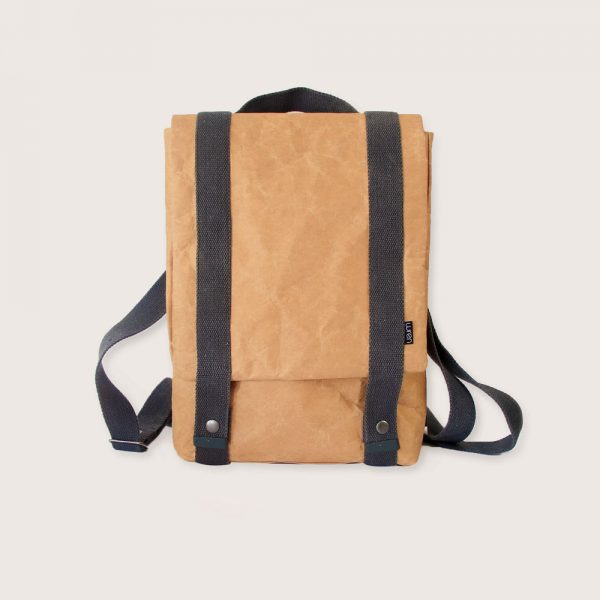 backpack front grey