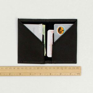 Wren Slim Wallet Black Measurement lres