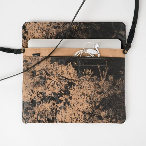 Wren Evolution Colab Aloe Hill 13inch Laptop Sleeve With strap 02 lres