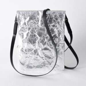 Wren Silver iPad Sleeve with strap lres