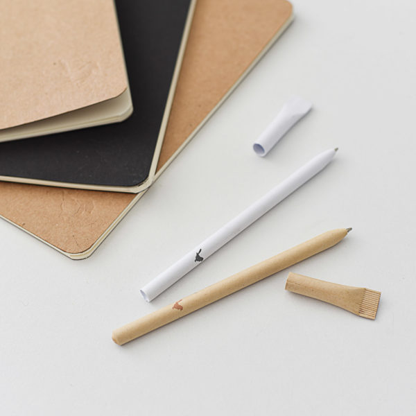 Wren Notebooks Recycled Paper Pens