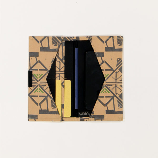 Ara Green Travel Folder Open