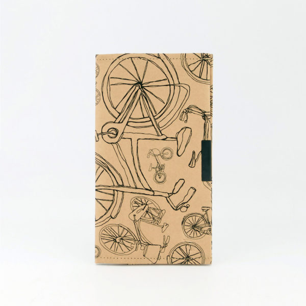 Bicycles All Around Travel Folder Front