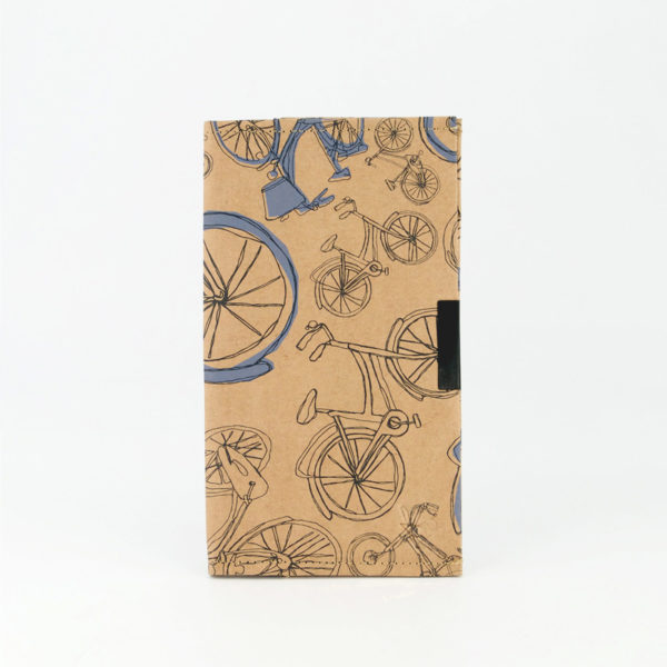 Blue Bicycles Travel Folder Front