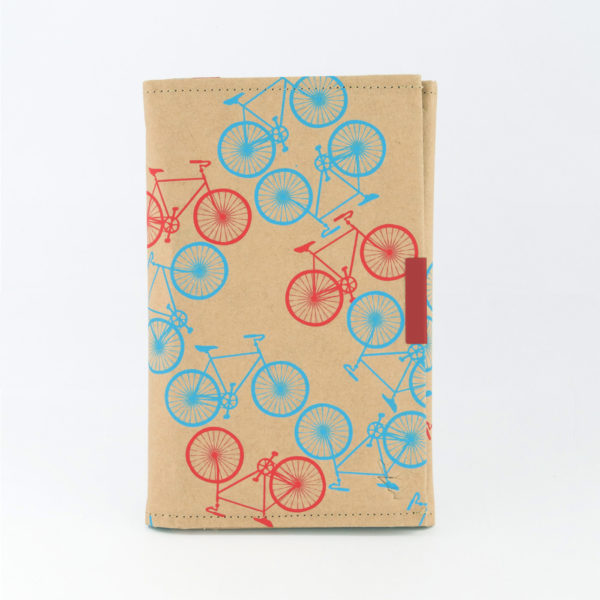 City Bikes White B6 Notebook Front