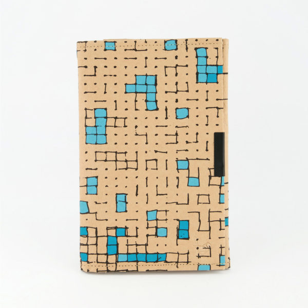 Dots Turquoise B6 Notebook Front