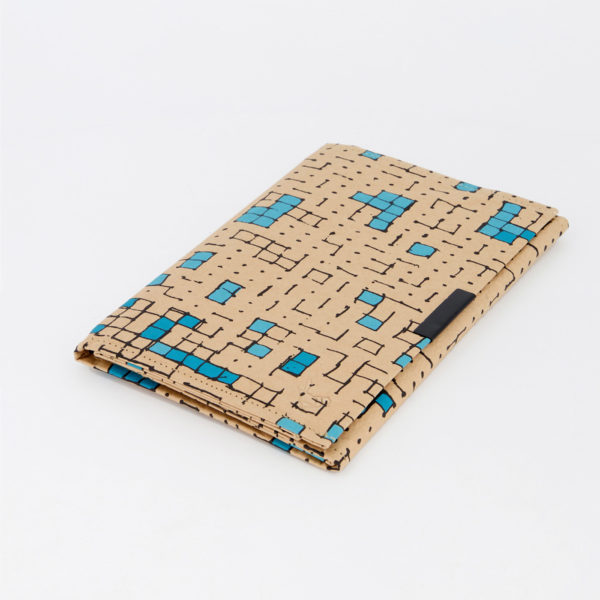 Dots Turquoise B6 Notebook Side