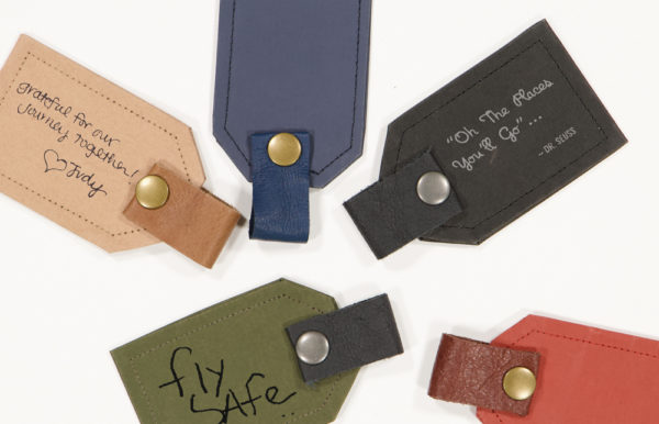 Wren Paper Luggage Tags