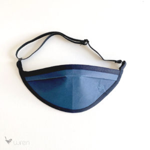 Deco Mask Kids Design blue 1