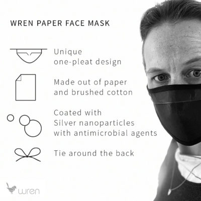 Wren classicpaperfacemask technical