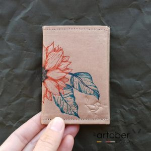 WrenArtober2020 Ruby Jacob Natural Slim Wallet 2