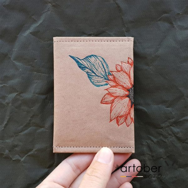 WrenArtober2020 Ruby Jacob Natural Slim Wallet 4