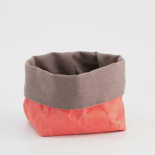 Wren persimmon paper tub small LR