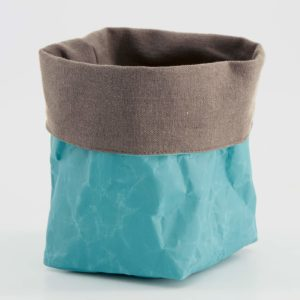 Wren Teal paper tub medium LR