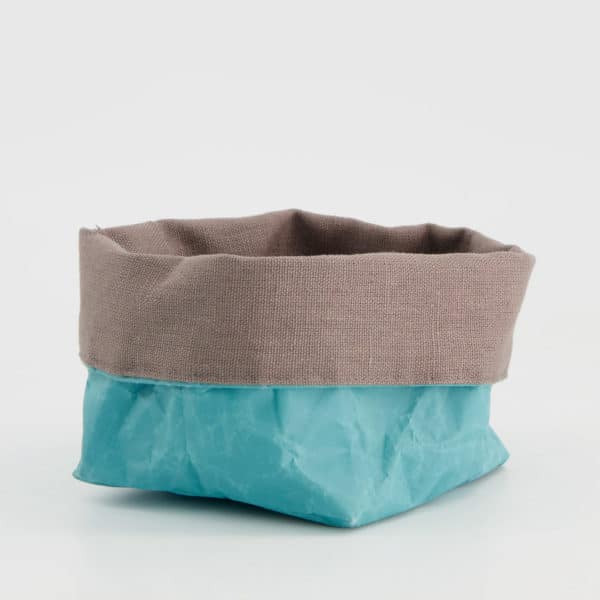 Wren Teal paper tub teal small LR