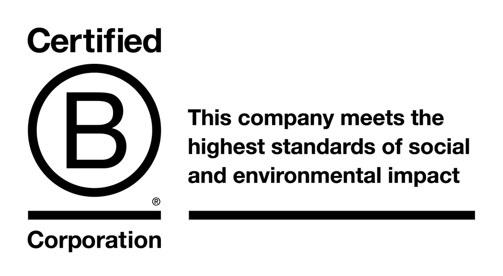 Certified B Corp Logo With Tag