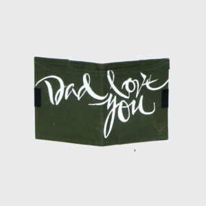 Dad Love you Square Wallet 1