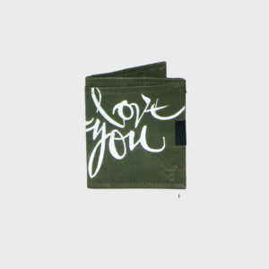 Dad Love you Square Wallet 3